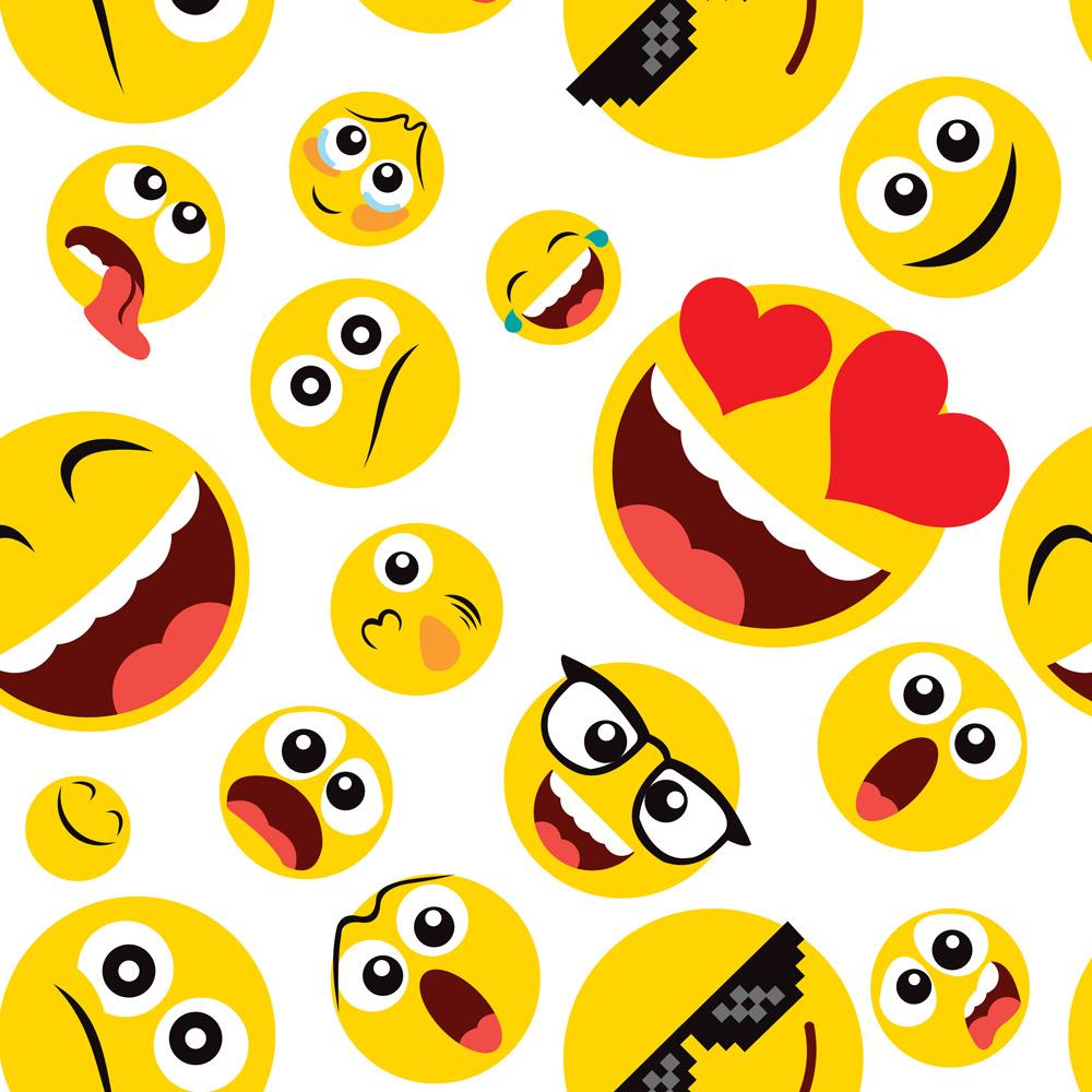 Papel de Parede Casual Emojis
