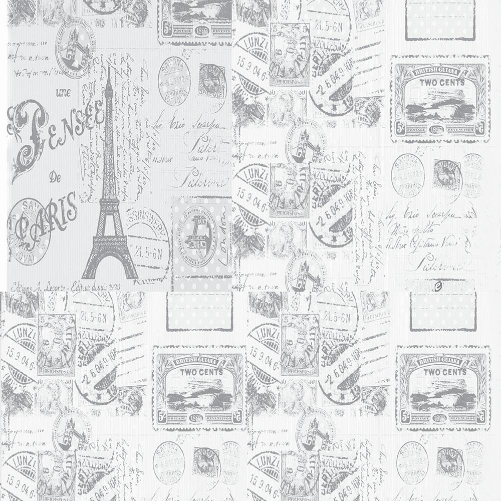 Papel de Parede Casual Paris Retrô