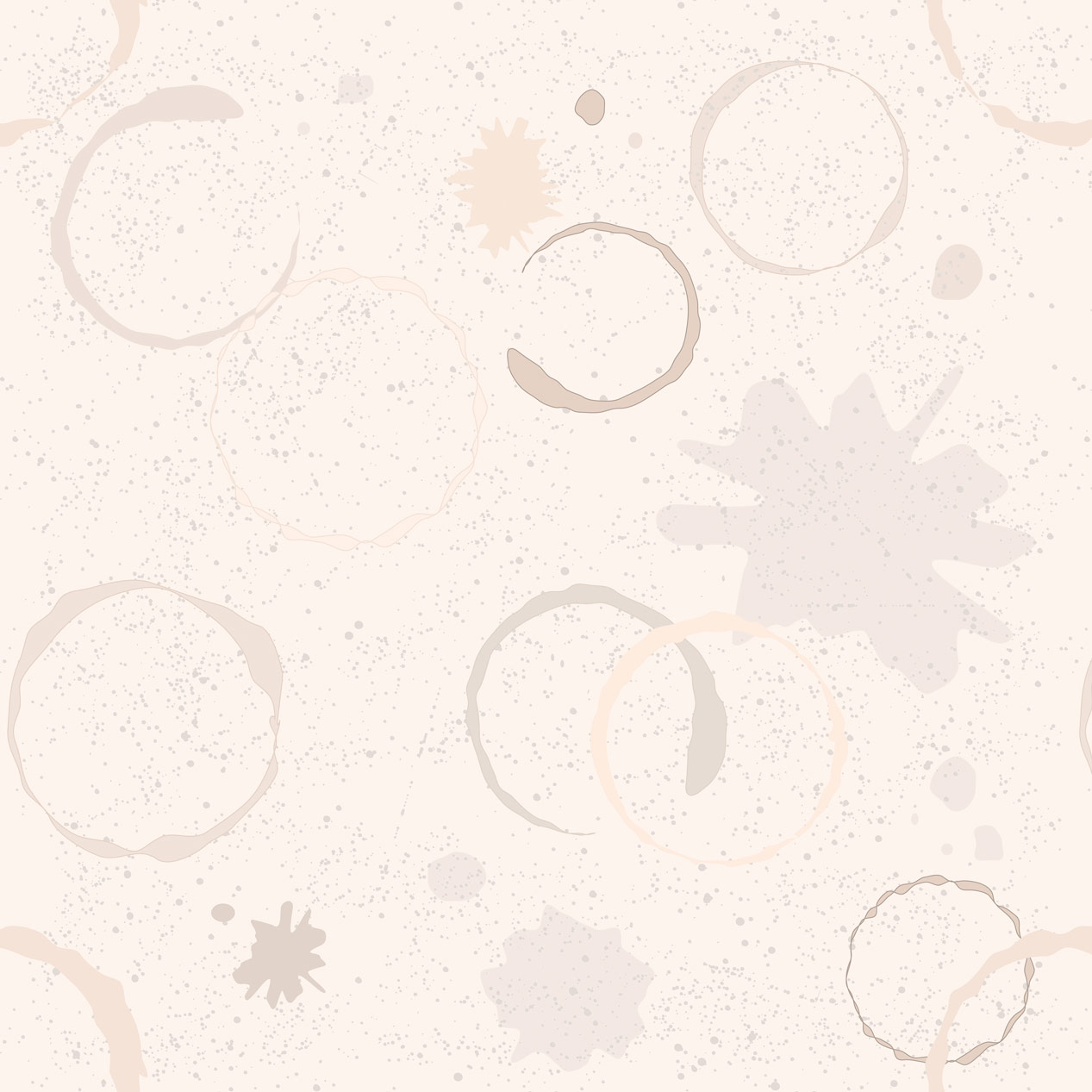 Papel de Parede Casual Semicírculos Tons de Areia