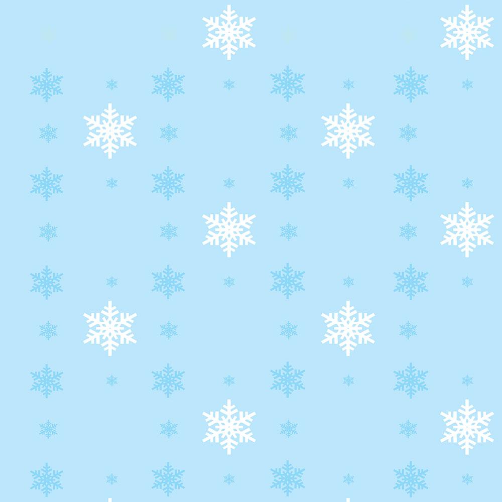 Papel de Parede Clássico Flocos de Neve