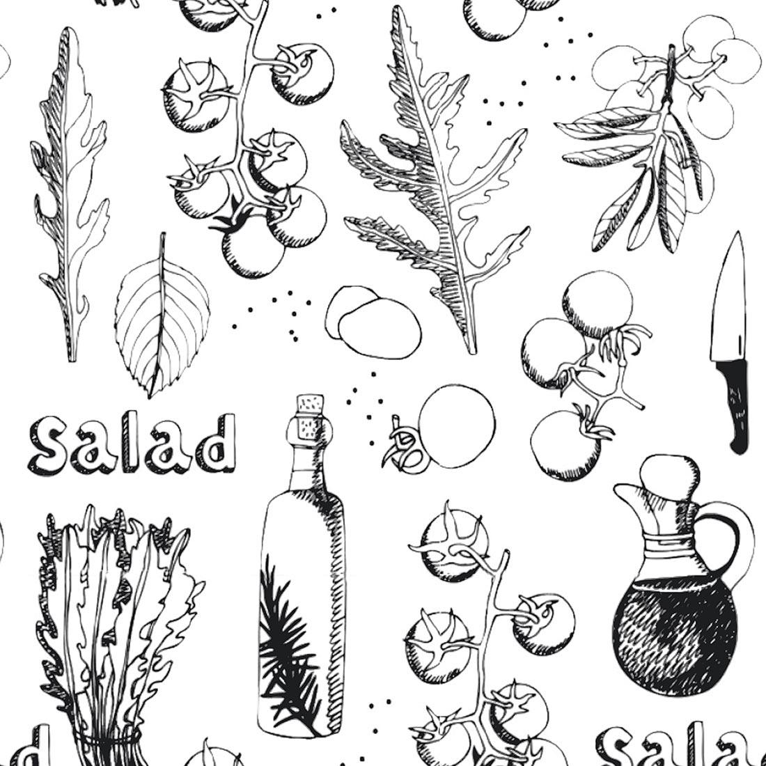 Papel de Parede Clássico Salada