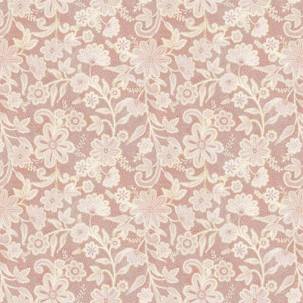 Papel de Parede Floral Rendinha Rosa