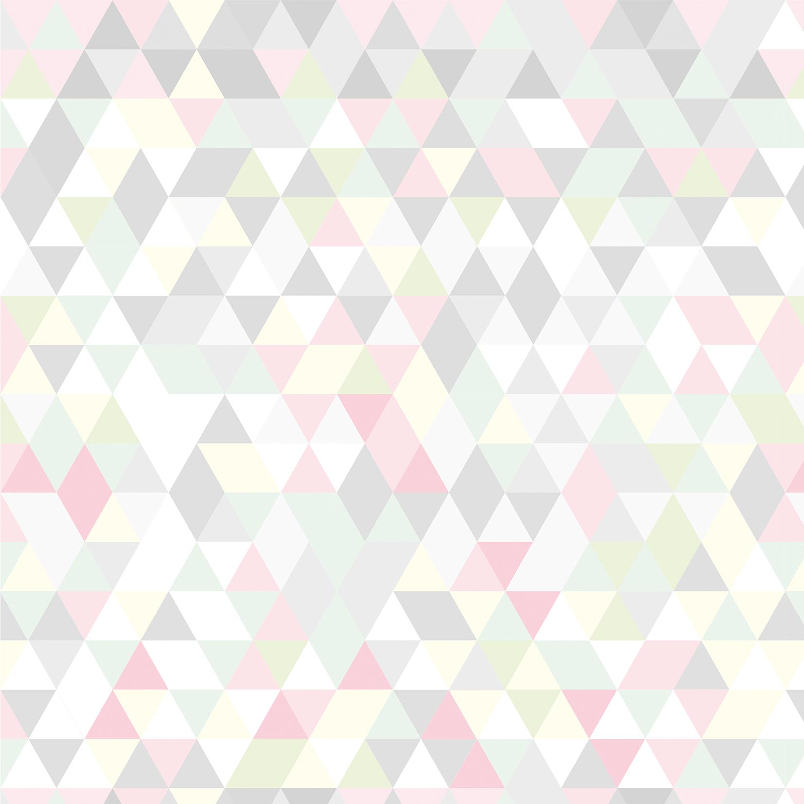 Papel de Parede Geométrico Colors