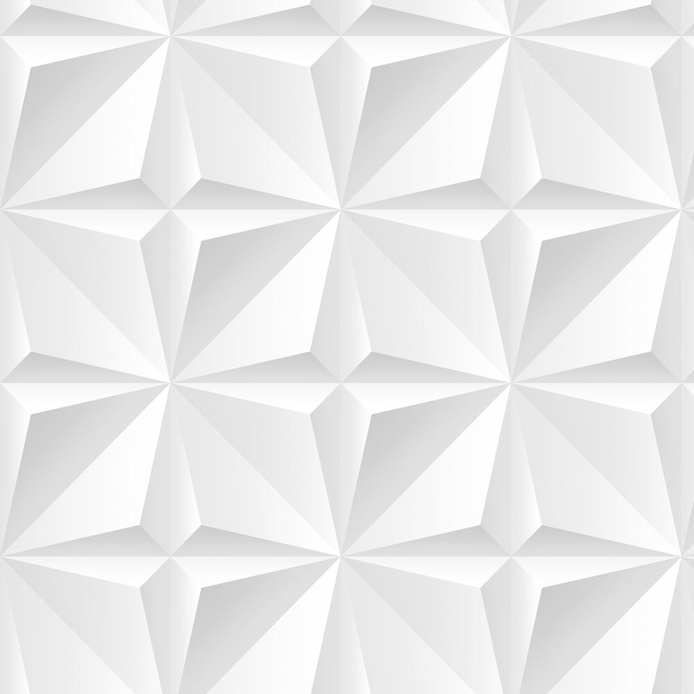 Papel de Parede Geométrico Ilusão 3D