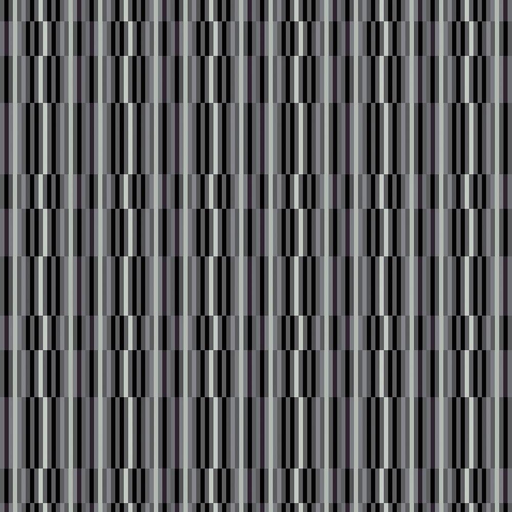 Papel de Parede Geométrico Linhas Cortadas Cinza e Preto