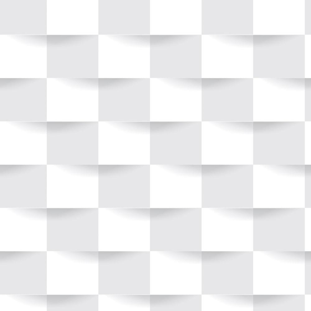 Papel de Parede Geométrico Quadrados Cinza