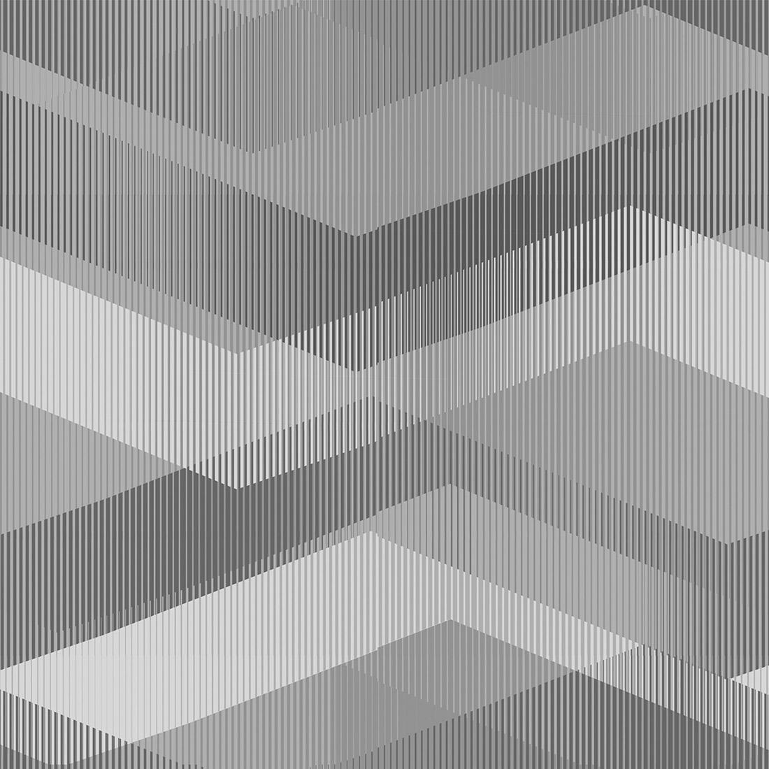 Papel de Parede Geométrico Textura Cinza