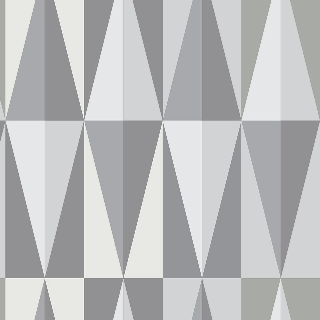 Papel de Parede Geométrico Tons Cinza