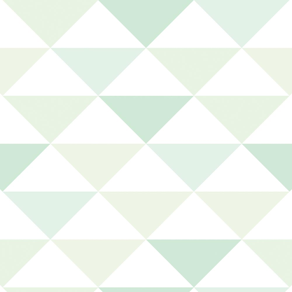 Papel de Parede Geométrico Tons de Verde