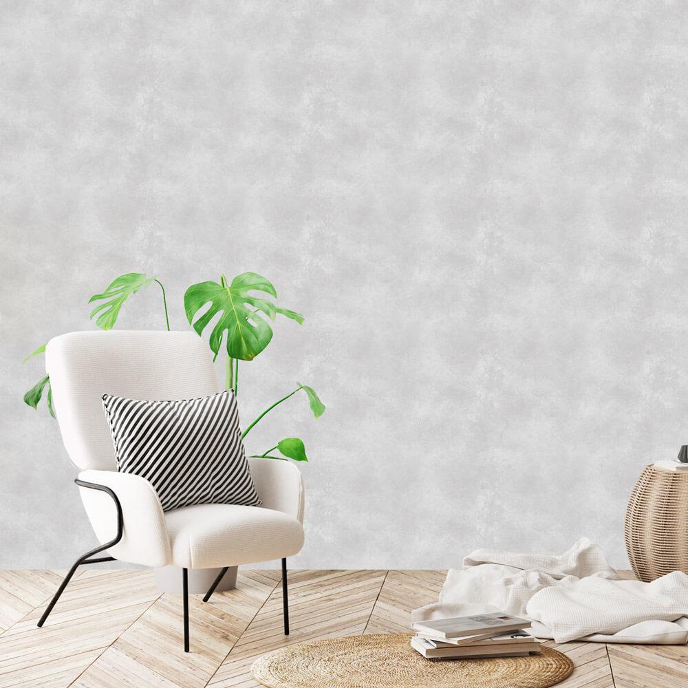 Papel de Parede Textura Cimento Queimado