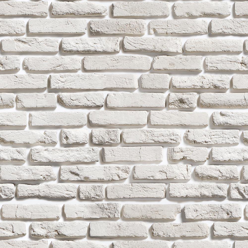 Papel de Parede Pedra Tijolo Rústico