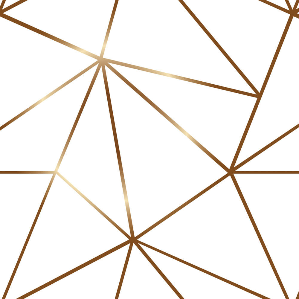 Papel Parede Geométrico Fendi Zara Gold Tons Claros