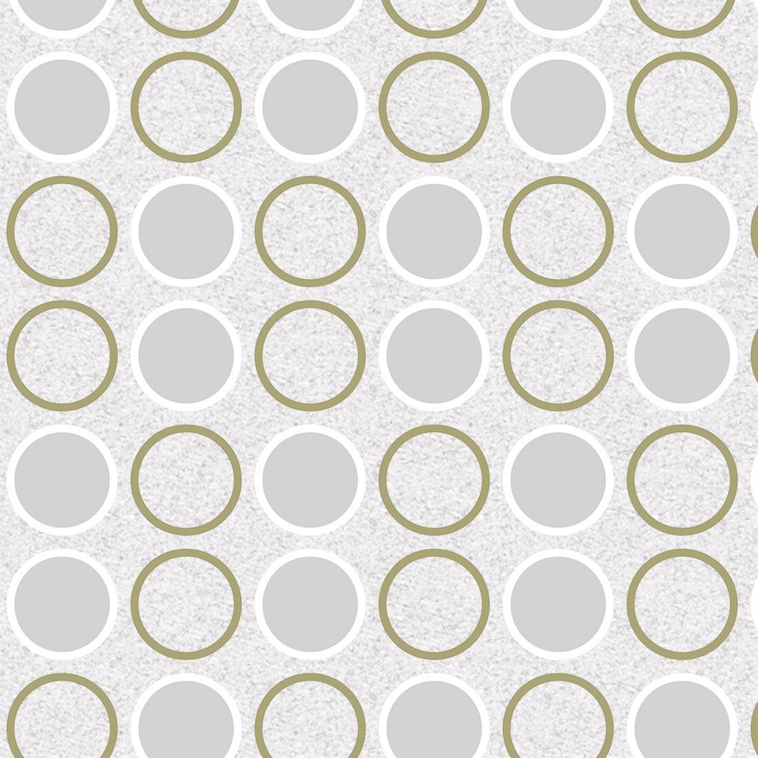 Papel Parede Geométrico Verde e Cinza