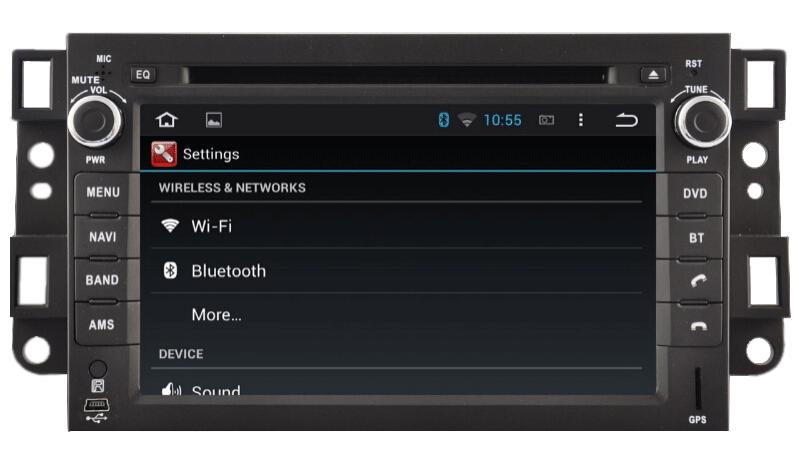 Central Multimídia Captiva Android 4.4.4