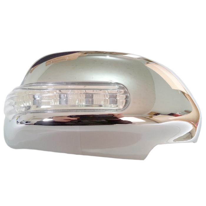 Capa Cromada com Pisca de LED Hilux 2005 a 2015