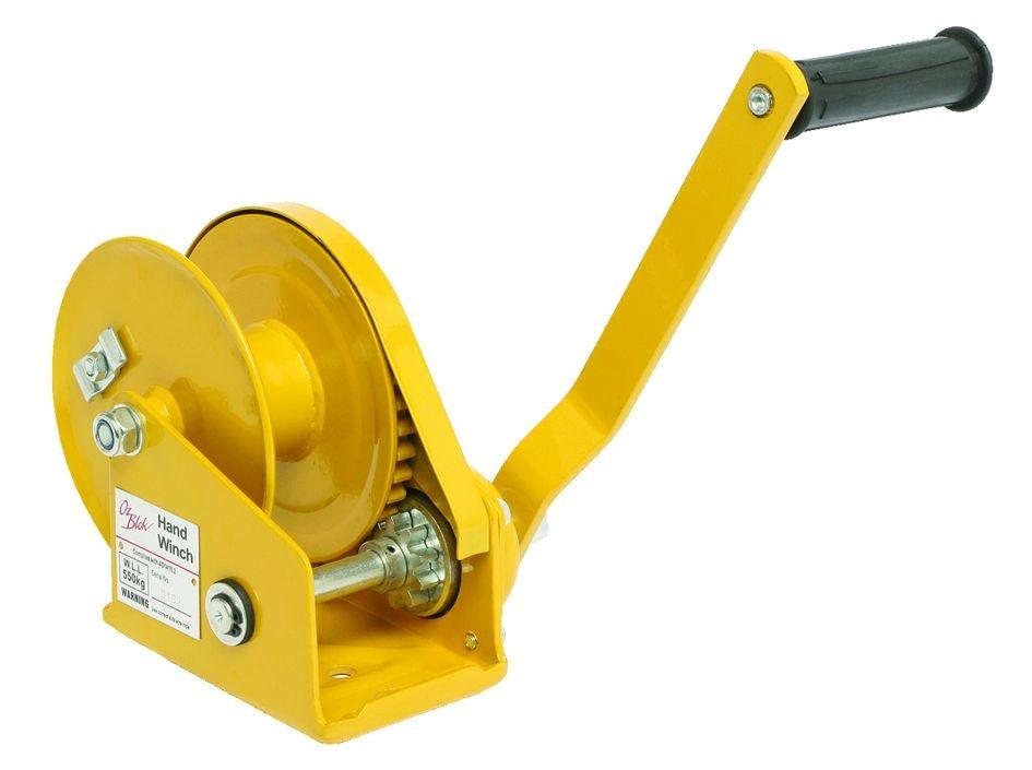 Guincho de Catraca 1800lbs (820kg) com freio automático.