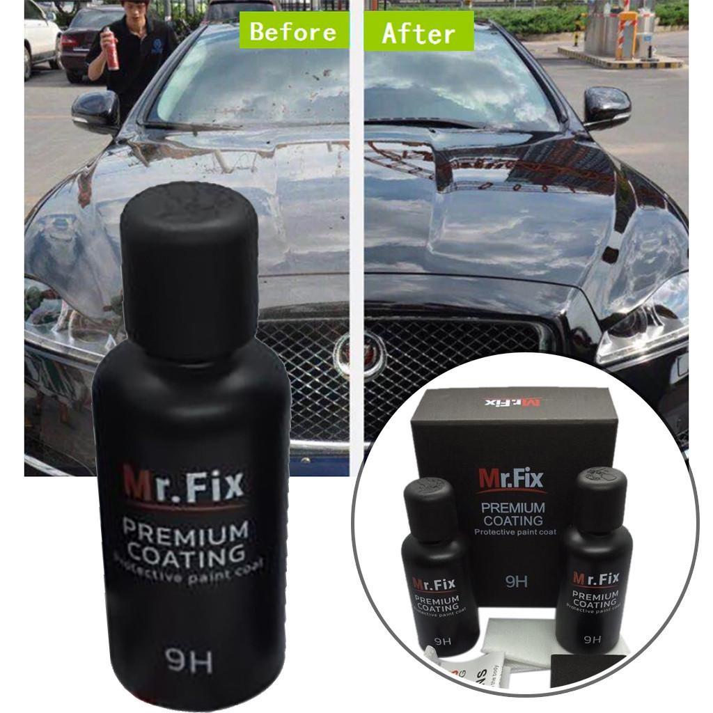 Vitrificador Carro Ceramica Nano 9hmr Fix  Premium
