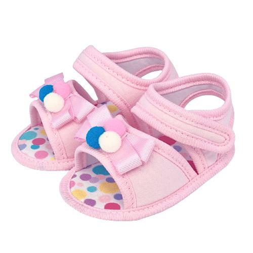 Sandália Baby Pop Rosa