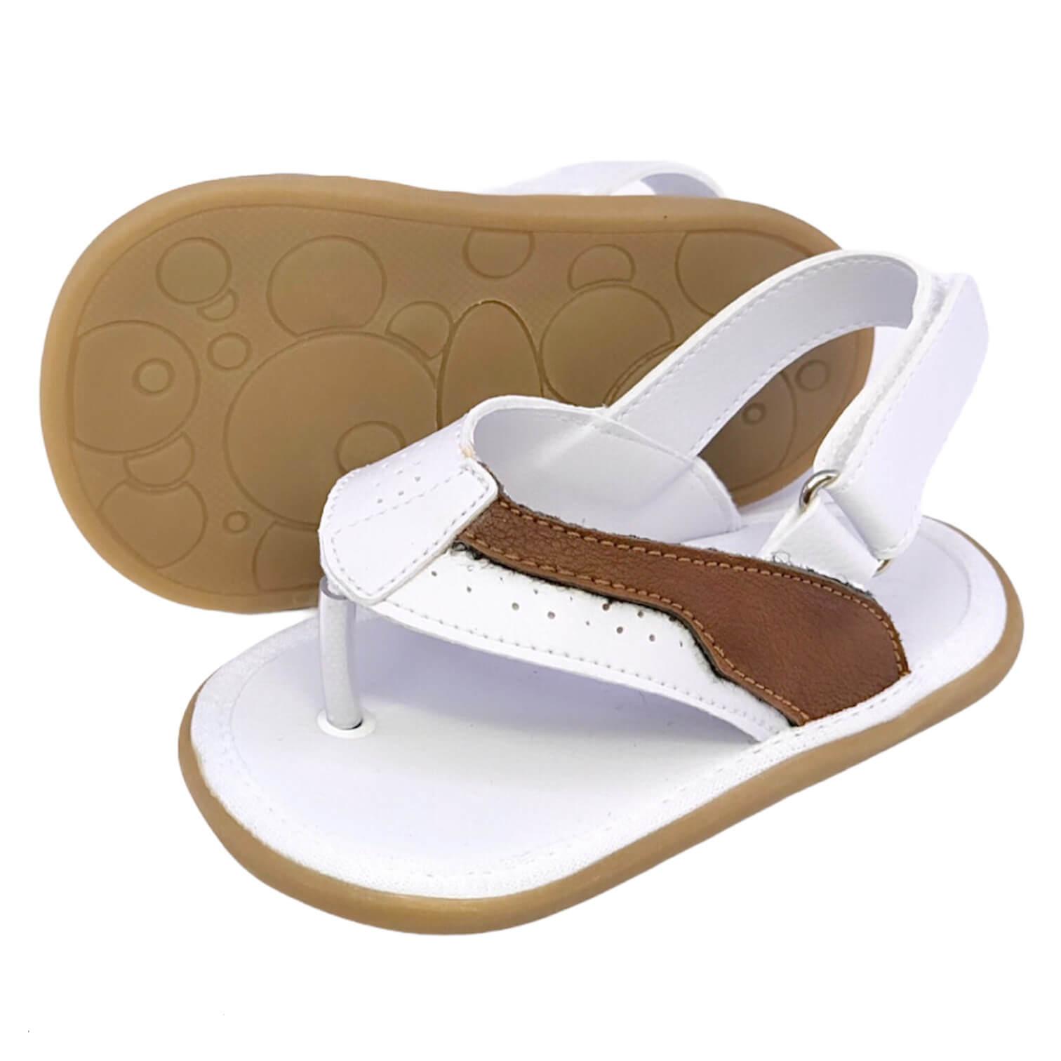 Sandália Dedo Branca