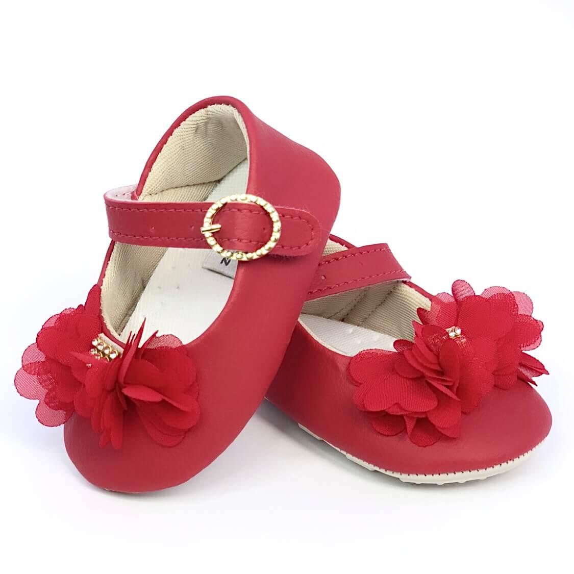 Sapatilha Baby Vermelha