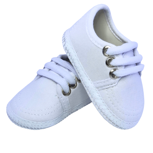 Sapato Baby Branco Unissex