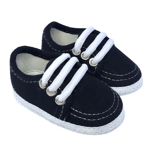 Sapato Baby Preto Unissex