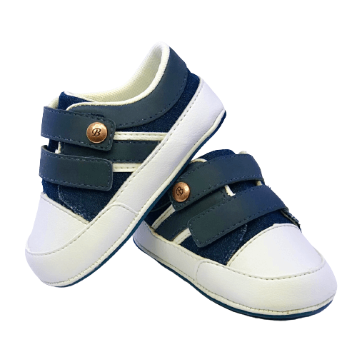 Sapato Jeans velcro