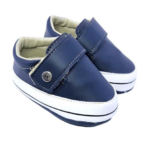 Sapato Léo Azul Marinho