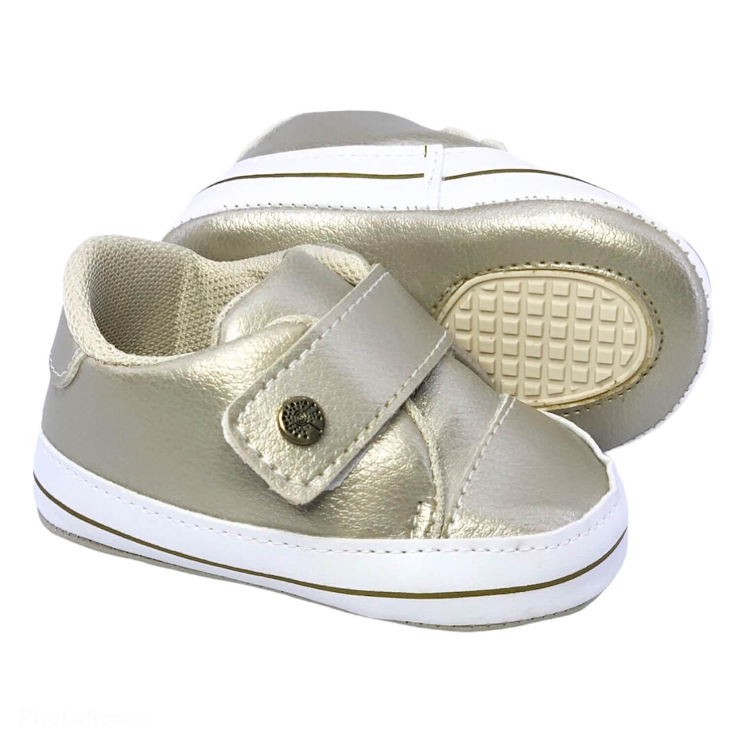 Sapato Mel Dourado