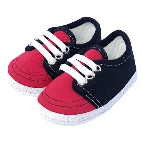 Sapato Vermelho e Preto