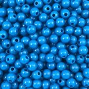 BOL163 - Bola Resina Azul 6mm - 20Grs