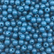 BOL233 - Bola Resina Azul Bic 6mm - 20Grs