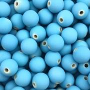 BOL261 - Bola Emborrachada Azul Claro 10mm - 20Grs