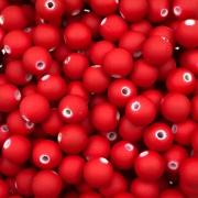 BOL264 - Bola Emborrachada Vermelho 8mm - 20Grs