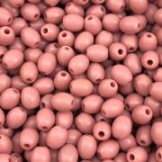 BOL279 - Conta Balão de Resina Rosa 6mm - 20Grs