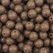 BOL326 - Bola Resina Chocolate 10mm - 20Grs