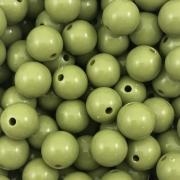 BOL331 - Bola Resina Verde Floresta 12mm - 20Grs