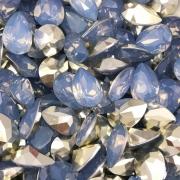 CHT1347 - Chaton Gota 10x14 Base Côncava Light Sapphire Opal- 4unids