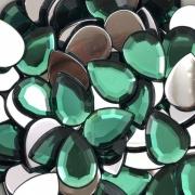 CHT1433 - Chaton Gota 13x18 Green Turmaline - 04unids