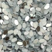 CHT1541 - Chaton Oval 4x6 White Opal - 20Unids