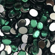 CHT1572 - Chaton Oval 8x10 Green Turmaline - 10unids
