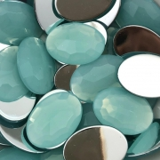 CHT1619 - Chaton Oval 18x25 Pacific Opal - 2Unids