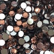 CHT1646 - Chaton Redondo 6mm Light Burgundy - 20Unids