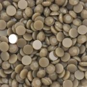 CHT1664 - Chaton Redondo 6mm Jade Khaki Quartz - 10Unids