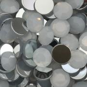 CHT1715 - Chaton Redondo 12mm White Opal - 6Unids