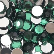 CHT1718 - Chaton 12mm Redondo Green Turmaline - 6Unids