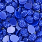 CHT526 - Chaton Oval 8x10 Azul Bic - 10unids