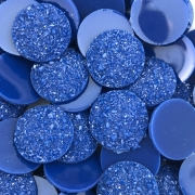 CHT553 - Chaton Redondo Azul Bic 16mm - 4unids