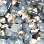 CHT710 - Chaton Gota 10x14 Base Côncava Indian Sapphire - 4unids