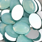 CHT795 - Chaton Oval 18x25 Pacific Opal - 2Unids